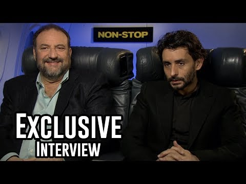 Producer Joel Silver & Director Juame Collet Serra - Non-Stop Exclusive Interview