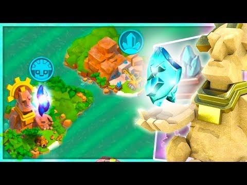 Boom Beach Complete Guide to Tribes, Militia, Grand Statues, and Crystal Mine! (Update Sneak Peek!)
