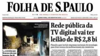 Timelapse da Folha de S. Paulo entre 2000-2010