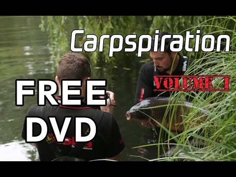 CARPSPIRATION VOLUME I **FREE CARP FISHING DVD** - Taska TV