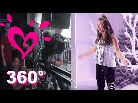 MACKENZIE ZIEGLER (360 VIDEO) BEHIND THE SCENES 💗 PERFECT HOLIDAYS