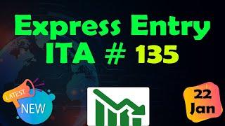 Canada Express Entry| ITA Draw #135. January 22, 2020
