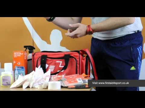 Firstaid4sport Advanced Football First Aid Kit