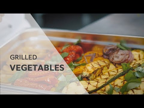 How-to grill Vegetables with Recipe  RATIONAL SelfCookingCenter