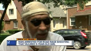 Man arrested for road rage shooting that injured 5-year-old girl