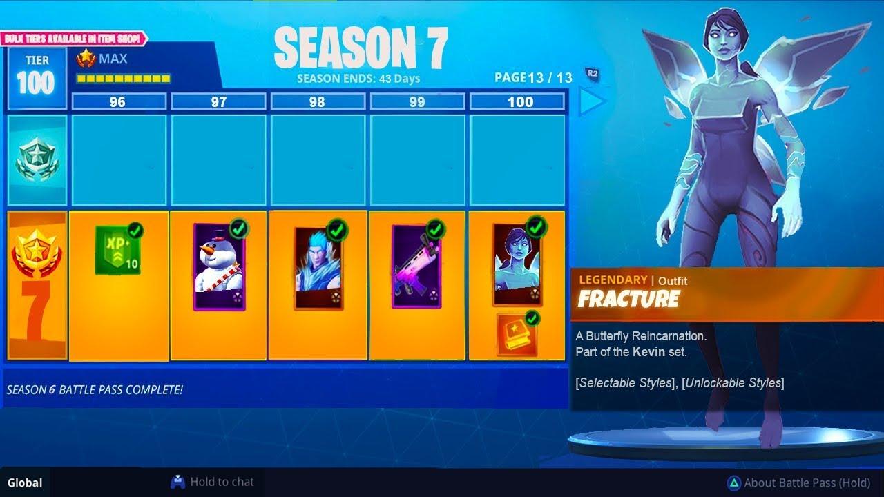 Season 7 Battle Pass Info Leaked Fortnite Battle Royale Season 7