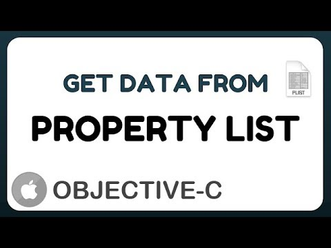 [Objective-c] Get data from Property List (plist)