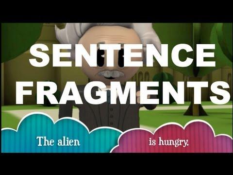 Grammar Vids for Kids Sentence Fragments - YouTube