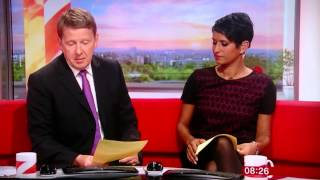 Bill Turnbull accidentally says the C word.