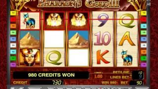 Игровой автомат Pharaoh's Gold 3 играть бесплатно на Casino-Sparta.com