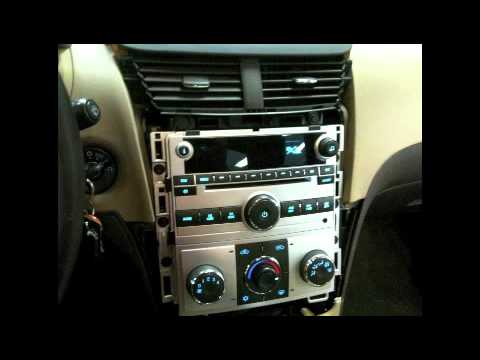 How To - 2008-2012 Chevy Malibu Factory Radio Removal - YouTube
