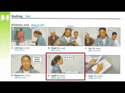 Oxford dictionary | Lesson 4 : Studying | Learn English | Oxford picture dictionary