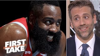 James Harden isn't a top-5 player in the NBA - Max Kellerman | First Take