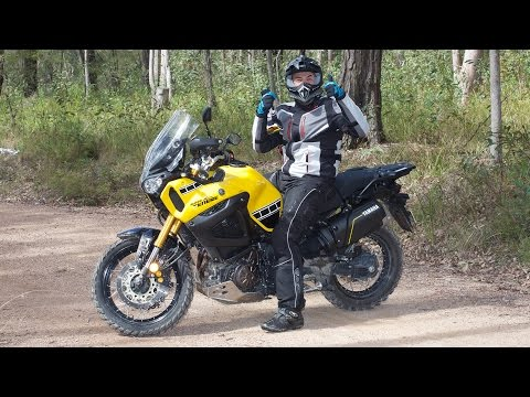 A Man and His 2016 Yamaha Super Tenere