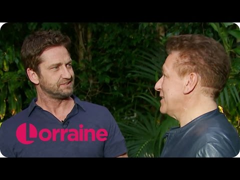 Gerard Butler Knocks Out Ross King | Lorraine