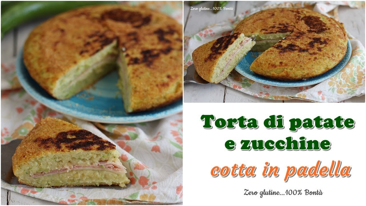 Ricetta Patate E Zucchine In Padella.Torta Di Patate E Zucchine In Padella Youtube