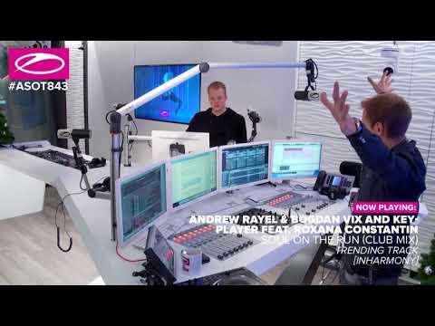 #ASOT843: Andrew Rayel & Bogdan Vix & KeyPlayer feat. Roxana Constantin - Soul On The Run (Club Mix)