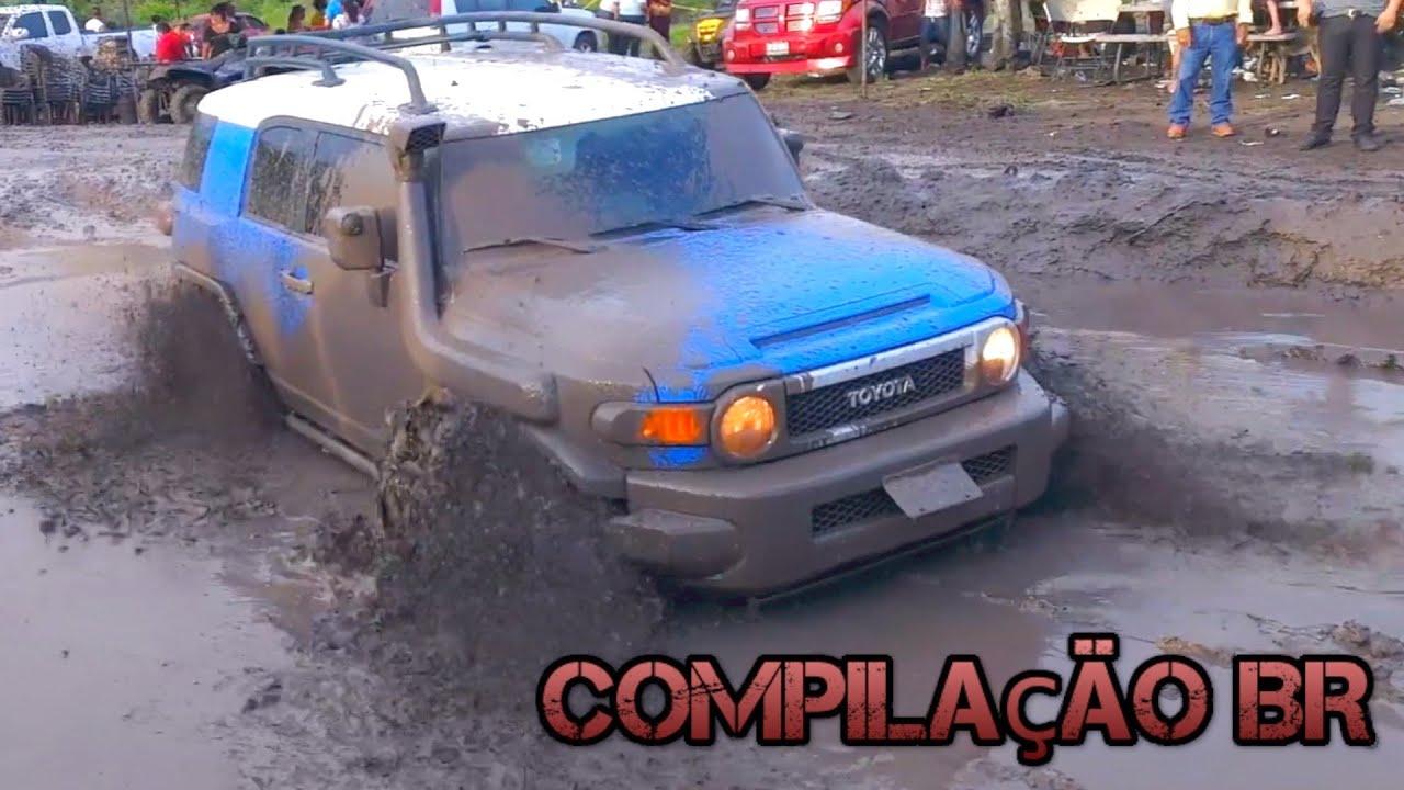 Compilação: Toyota FJ Cruiser na lama ( Compilation: Toyota FJ Cruiser Off-road )