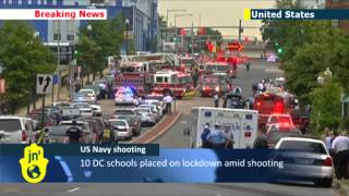 Washington DC Navy Base Shooting: fatalities confirmed as gunman attacks US Navy Yard
