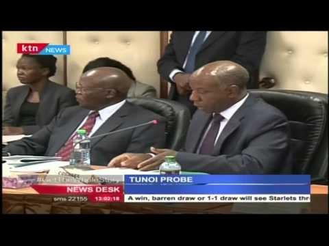 Shocking revelations emerge as public hearing on judge Philip Tunoi bribery saga resumes
