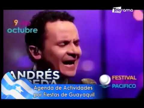 Agenda de actividades por fiestas de Guayaquil
