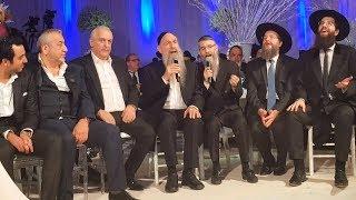 Mordechai Ben David & Avraham Fried Kumzitz at Wedding in Israel