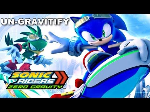 [SONIC KARAOKE] Sonic Riders Zero Gravity - Un-gravitify (Cashell) [WATCH IN HD]