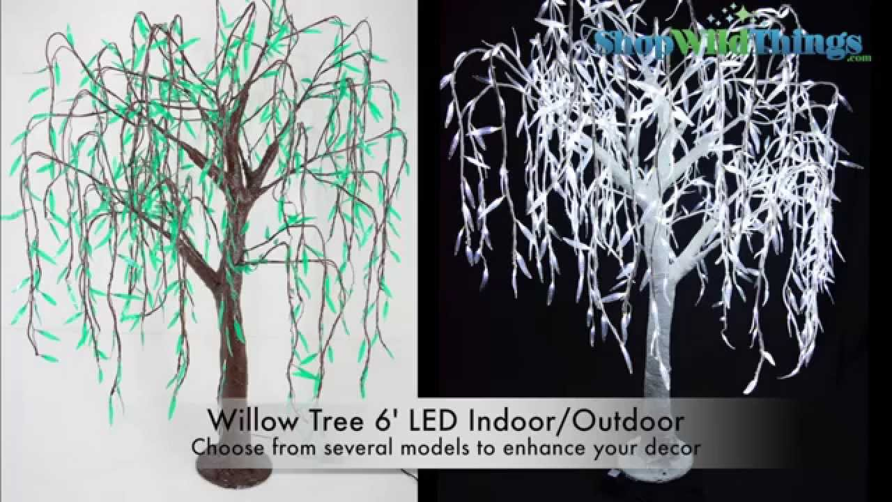 Willow Tree 6 Led Indoor Outdoor Shopwildthings Youtube
