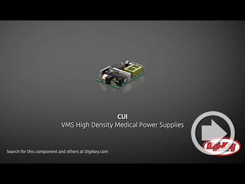 Digi-Key Daily Video Highlights CUI's High Density Medical Power Supplies
