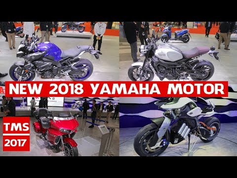 New 2018 Yamaha Models | All New 2018 Yamaha Motor debuts at the Tokyo Motor 2017