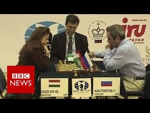 The 'Queen Of Chess' Who Defeated Kasparov - BBC News