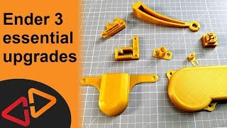 Ender 3 Upgrades - Printable Essential Upgrades