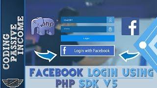 Facebook Login With PHP SDK v5 & Graph API Tutorial