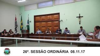 Sessão da Câmara 08.11.17