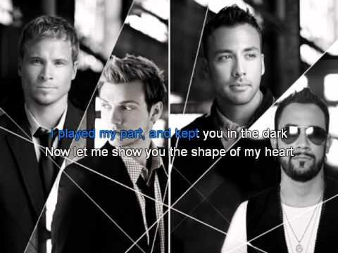 Backstreet Boys - Shape of my heart Karaoke