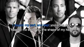 Backstreet Boys - Shape of my heart Karaoke