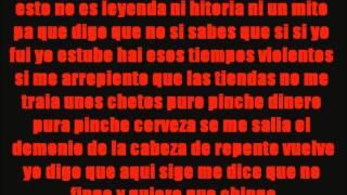 LETRA Under Side 821 - El Cazo