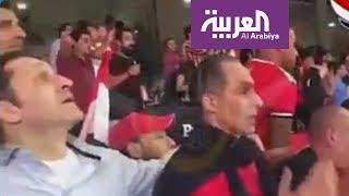 تفاعلكم : شاهد ردة فعل علاء و جمال مبارك على هدف محمد صلاح وتأهل مصر لكأس العالم
