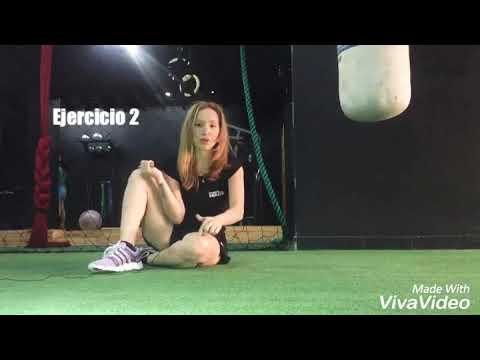 Ejercicios de flexibilidad y reeducación de columna vertebral