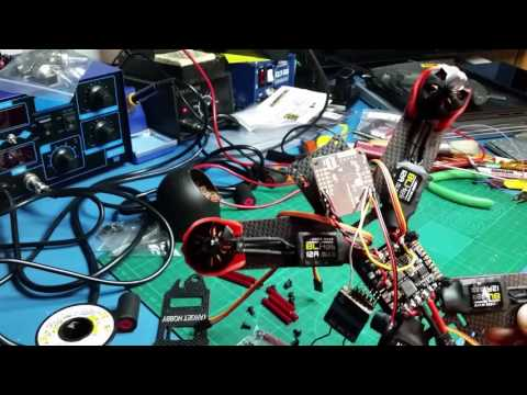 Targethobby Carbon Fiber QAV210 Quadcopter Kit Review