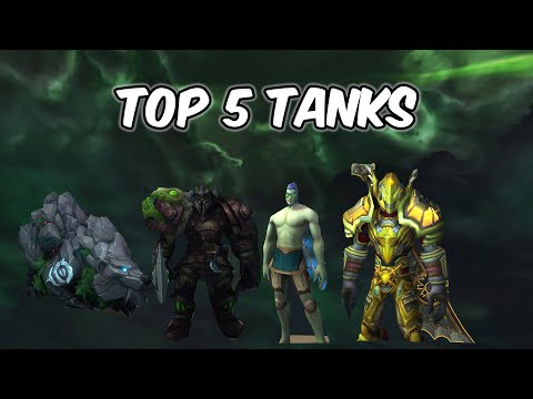Top 5 Tank Specs In PvP - WoW BFA 8.2