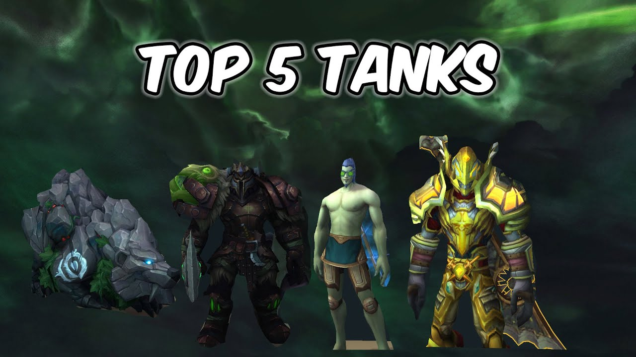 Top 5 Tank Specs In Pvp Wow Bfa 8 2 Youtube