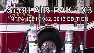 Scott Safety Air-Pak X3 SCBA Quick Start Video