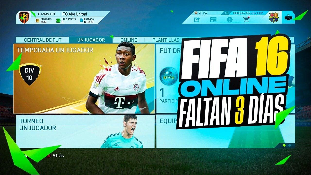 FALTAN 3 Dias Para FIFA 22 - Especial FIFA 16 Online Y Los Mejores Regates De Esta Epoca