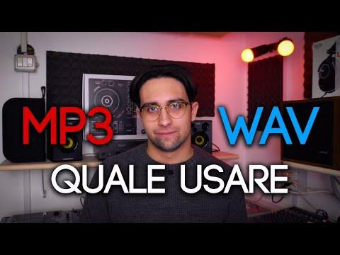 MP3 vs. WAV | Quale scegliere e perché