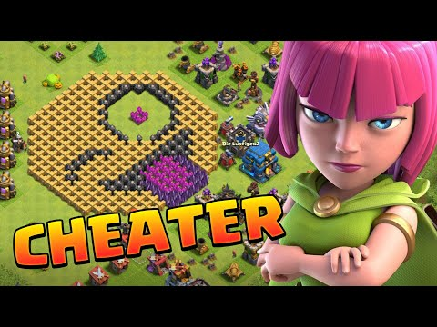 I Found A Cheater In Clash Of Clans