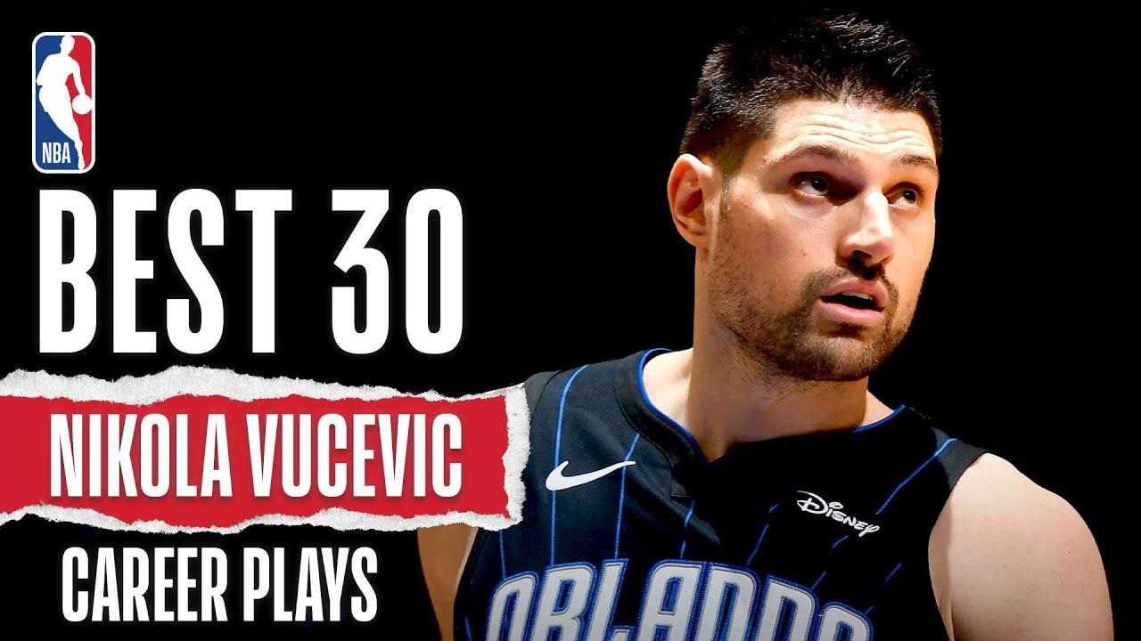 Nikola Vucevic's 30 BEST Plays With The Orlando Magic | #NBABDAY