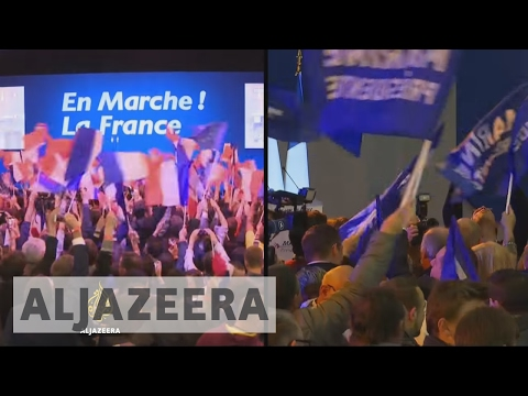 French election: Le Pen to face Macron in final round