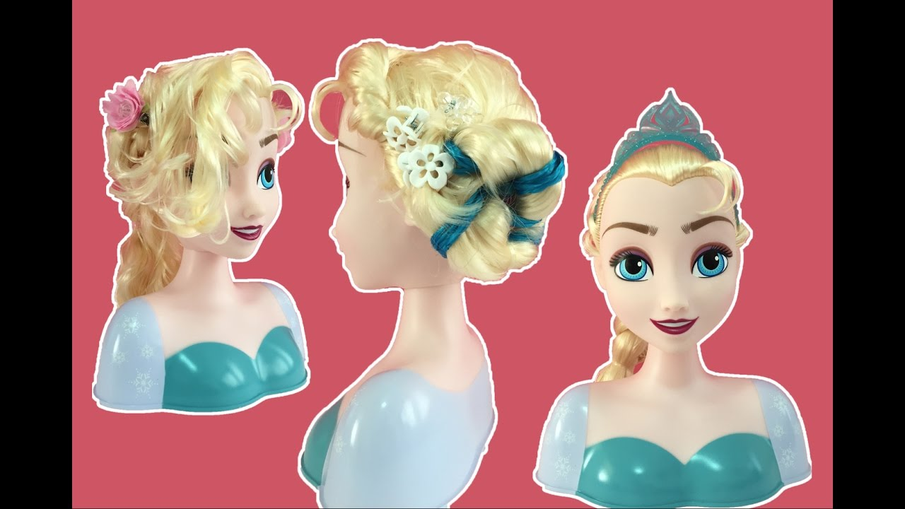 15 Best New Princess Hairstyles: Elsa's Frozen Coronation Hair + 4 Hairstyle Tutorials