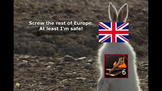 [HOI4] When the UK Fortifies the Crap out of Its Island